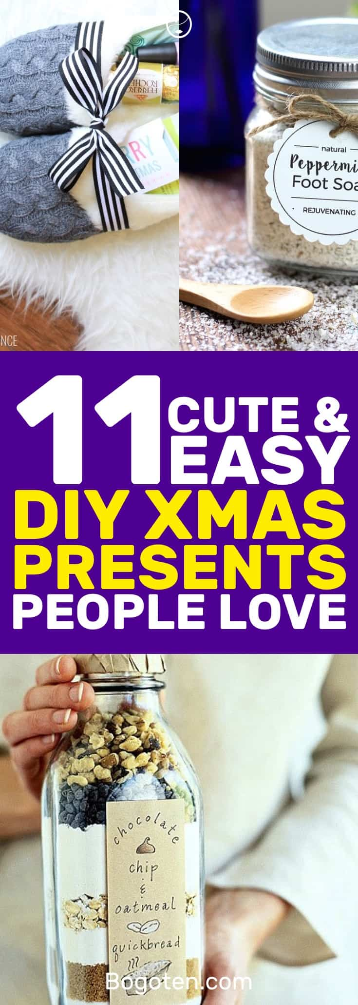 looking for diy christmas gift ideas these 11 diy gifts will make any person happy