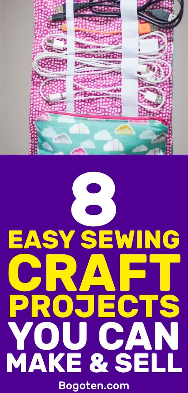 Looking for some easy things to sew so you can get your feet wet in the DIY world? These simple craft projects will get you started.