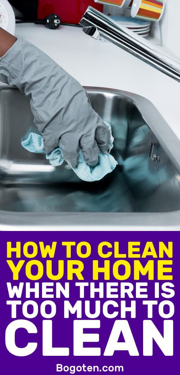 Need to clean your house but find the mess too overwhelming? Here are simple things that you can do to tackle the mess in your house.