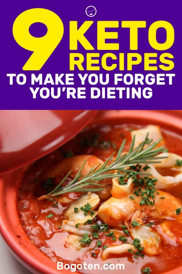 The ketogenic diet provides you with a bunch of foods that you can eat. Here are 9 keto recipes that will make you forget you're dieting.
