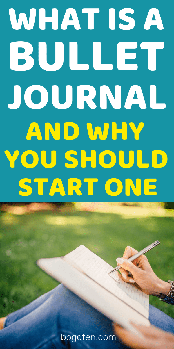 If you have too many things to remember and think about on a daily basis and you need a simple system to help you keep track, bullet journaling was made for you.
