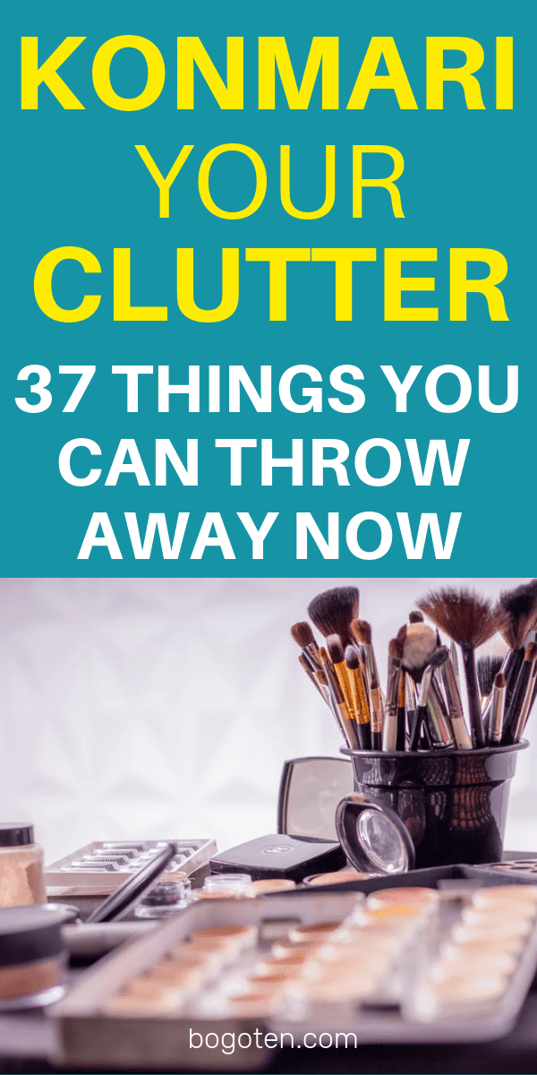 In this mega list I've gone through all of the things in my home that I've had no problem throwing away over the years, to help me live clutter-free.