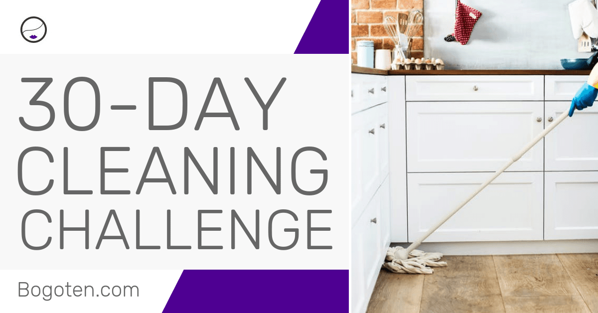30-Day Cleaning Challenge