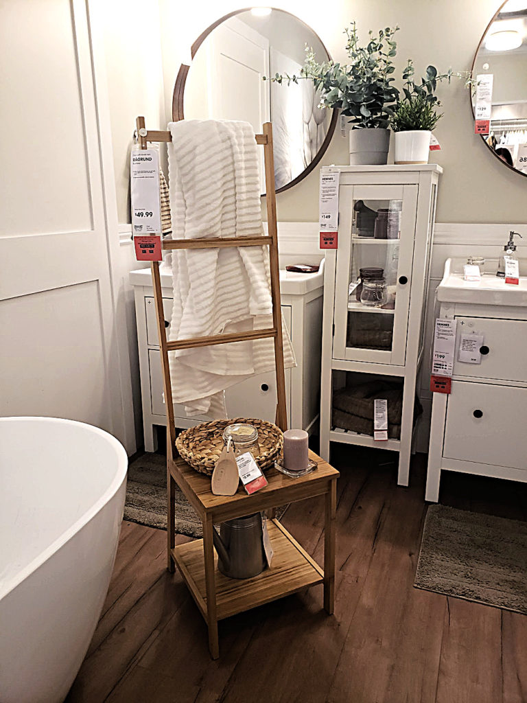 Towel Storage from Ikea for the Bathroom