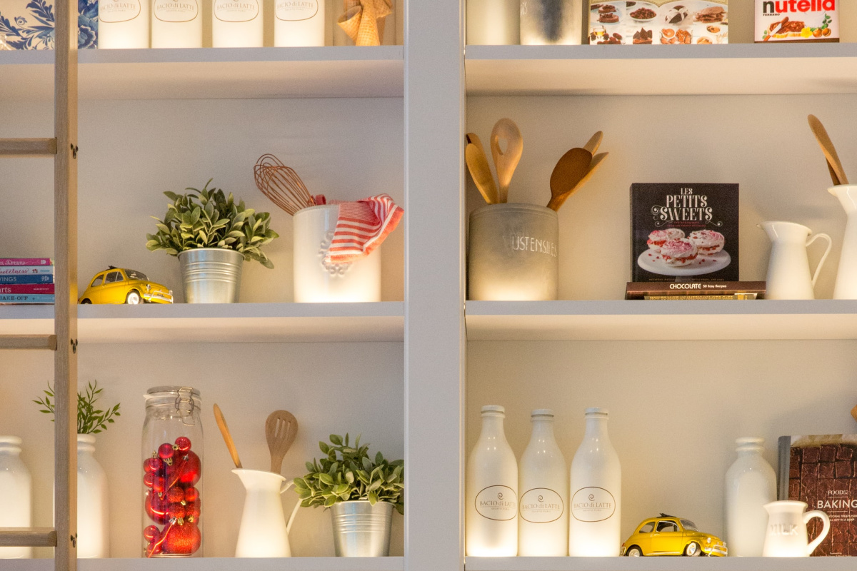 organized pantry feature