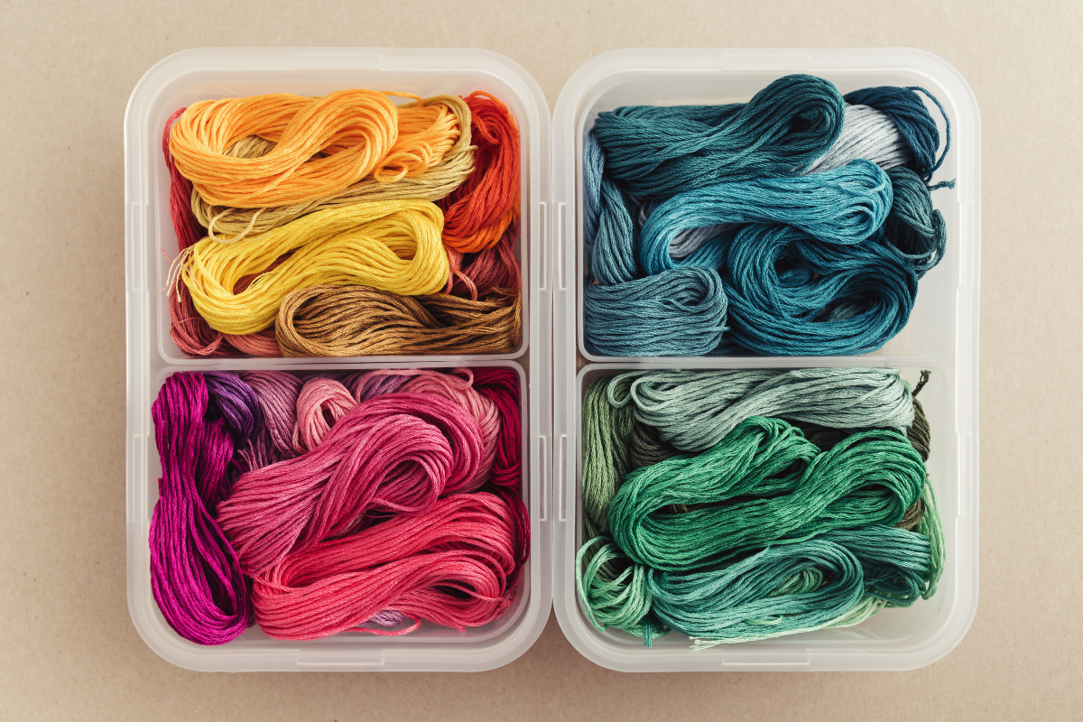 Embroidery Floss Storage