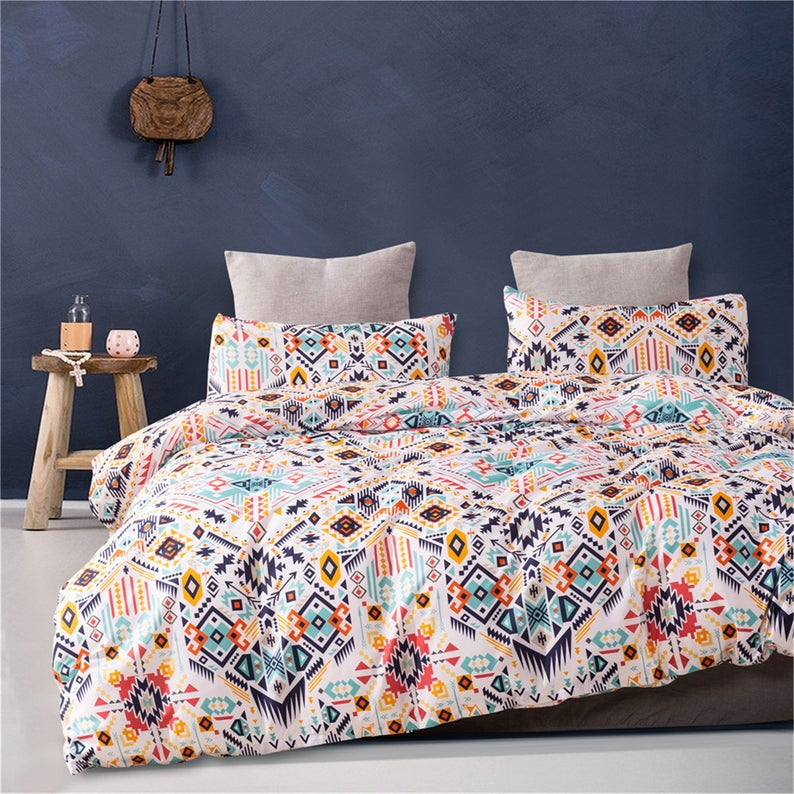 Boho Bedroom Duvet Set