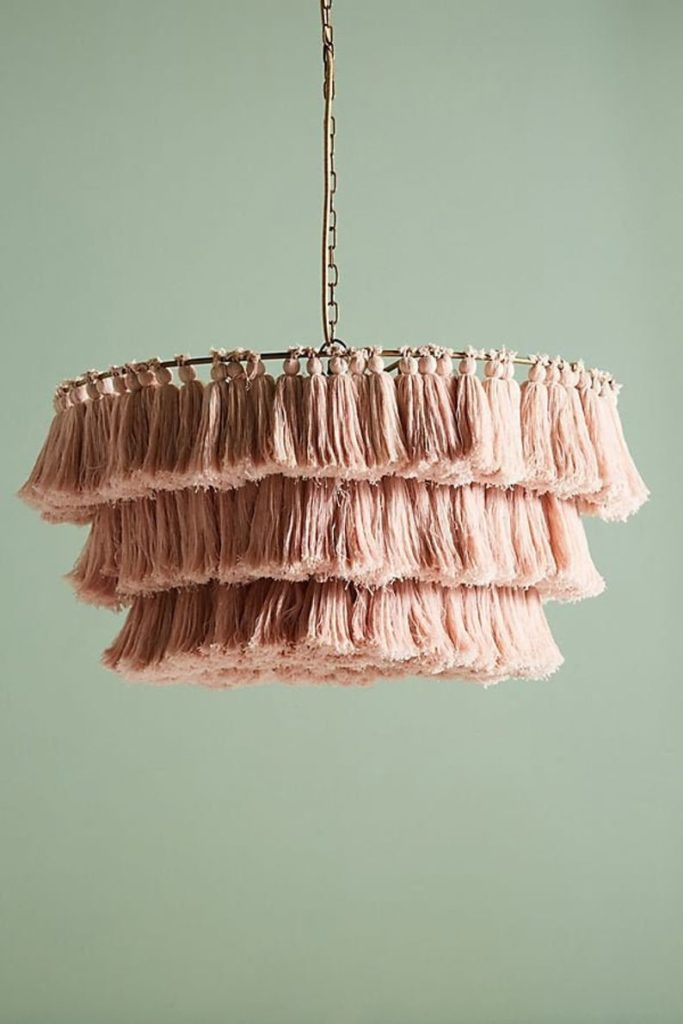 Boho Lighting with Tassels