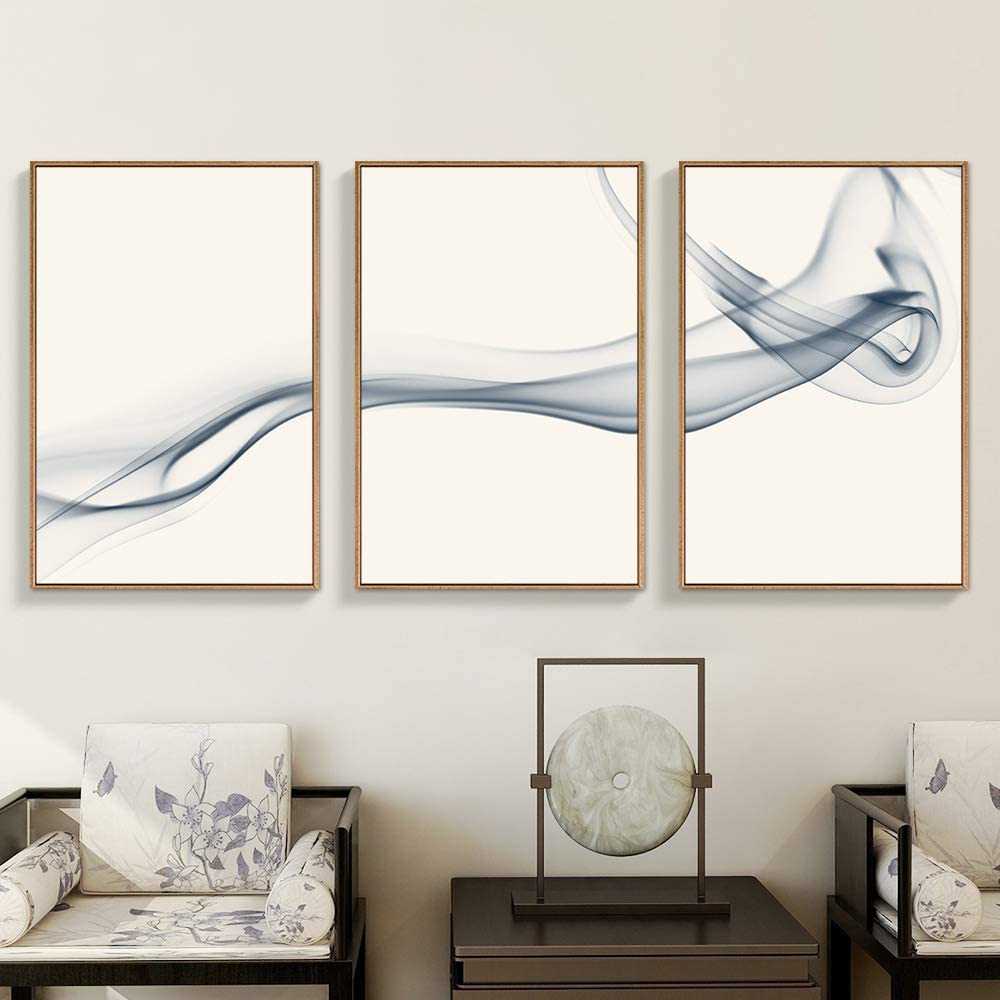 Smoky Tryptic Art for the bedroom