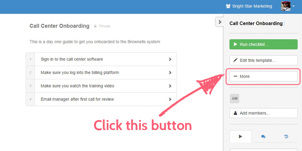process street help site - template more button