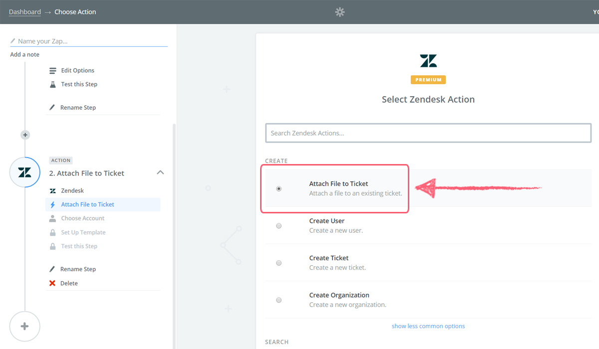 process street zendesk integration - attach file ticket