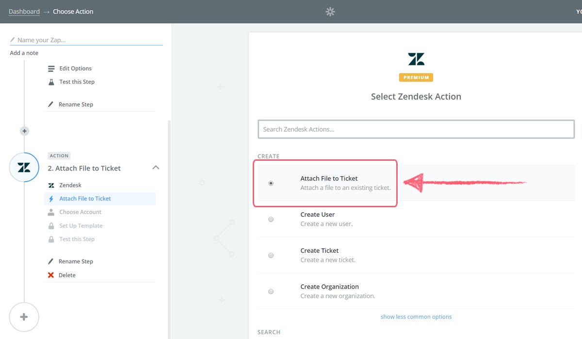 process street zendesk integration - attach file ticket