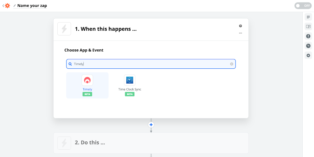 Timely integration Zapier