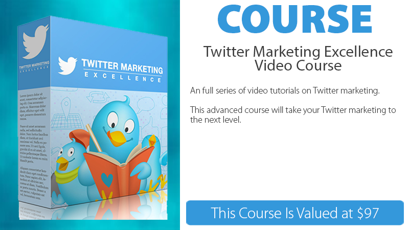 Twitter Marketing Excellence Video Course