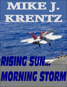 Rising Sun… Morning Storm by Mike J. Krentz @MikeJKrentz