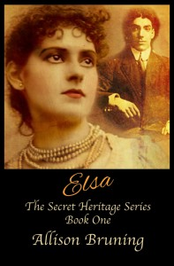 Elsa (Secret Heritage: Book 1) by Allison Bruning @emeraldkell