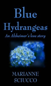 Cover Contest: Blue Hydrangeas by Marianne Sciucco