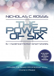 The Power of Six: 6+1 Science Fiction Short Stories by Nicholas C. Rossis @nicholas_rossis