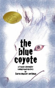 The Blue Coyote by Karen Musser Nortman