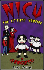 Nicu – The Littlest Vampire in 'Fangless' by Elias Zapple