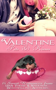 Valentine Pets and Kisses by Aubrey Wynne