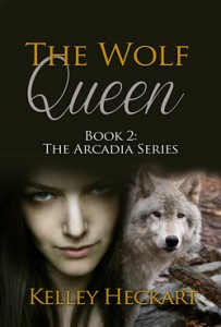 The Wolf Queen by Kelley Heckart