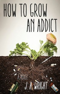 How to Grow an Addict. a novel by J.A. Wright