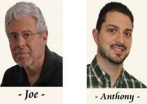 Interview with Author – Joseph and Anthony Pandolfi