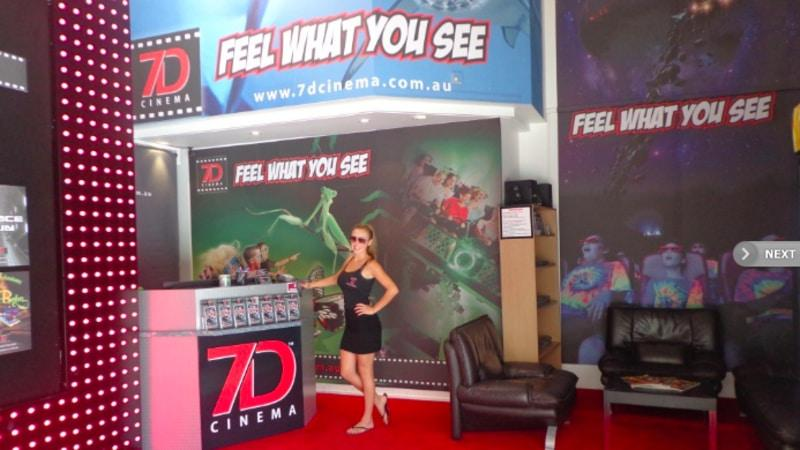You've tried  3D movies, you may have even heard of 4D movies, but have you experienced a 7D movie??? You will need to strap on your seatbelt for this seriously realistic 7D cinema experience!