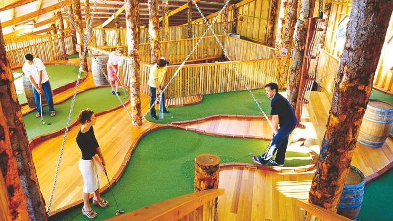 Get ready to take your Mini Golf experience to the next level at Hobart Putters Adventure Golf – a world class recreational facility with some of the best designed miniature golf courses in the world! Test your golfing ability by trying out one of our epic courses…