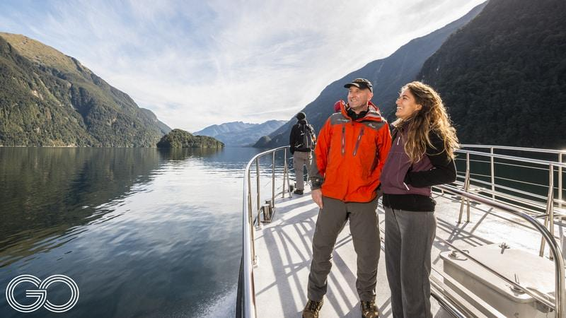 Let Go Orange showcase the remoteness, scale and unrivalled beauty of the Doubtful Sound with this epic 1-day coach & cruise trip departing Queenstown...