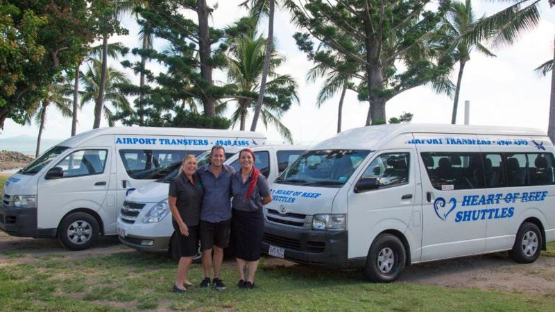 One Way Transfer from the Whitsunday Coast Airport