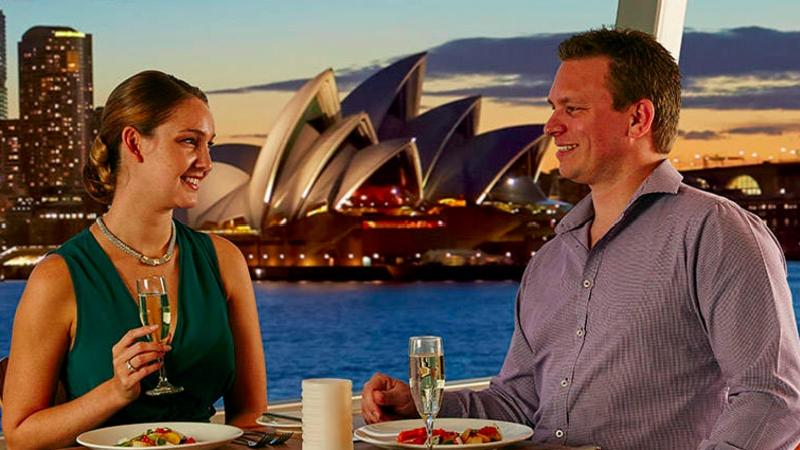Come along for a contemporary 3-course dining experience while cruising beautiful waterways of the Sydney Harbour on our Sunset Dinner Cruise.