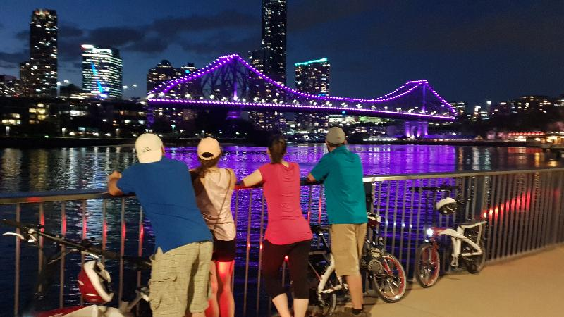 Discover the magic of Brisbane under lights as you pedal the city streets to see how artfully placed lighting on buildings, trees and bridges transform the city into a surreal vibrant world with surprises around every corner. Take advantage of cycling in Brisbane in the cooler, quieter evenings.