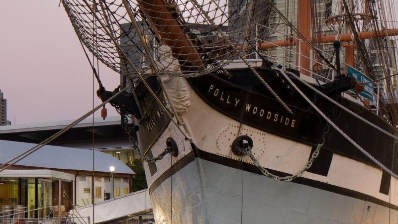 polly woolside tall ship