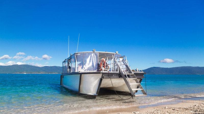Whitsundays Water Taxi Ex Airlie Beach Return - Zone 1