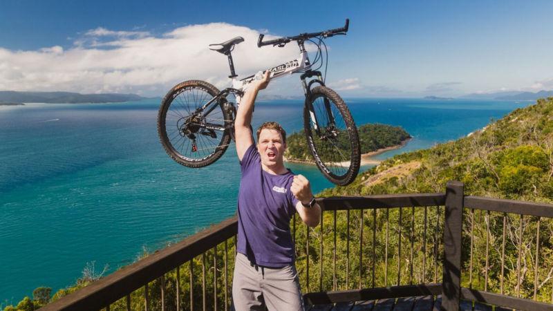 whitsunday mountain bike experience