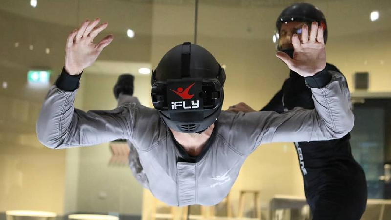 Virtual skydive iFLY Queenstown