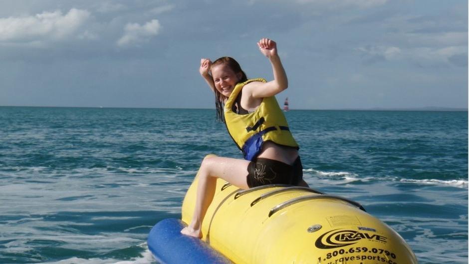 Big Banana Inflatable Ride