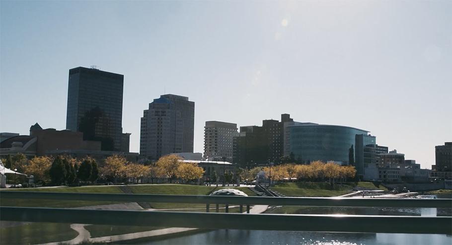Dayton City Skyline