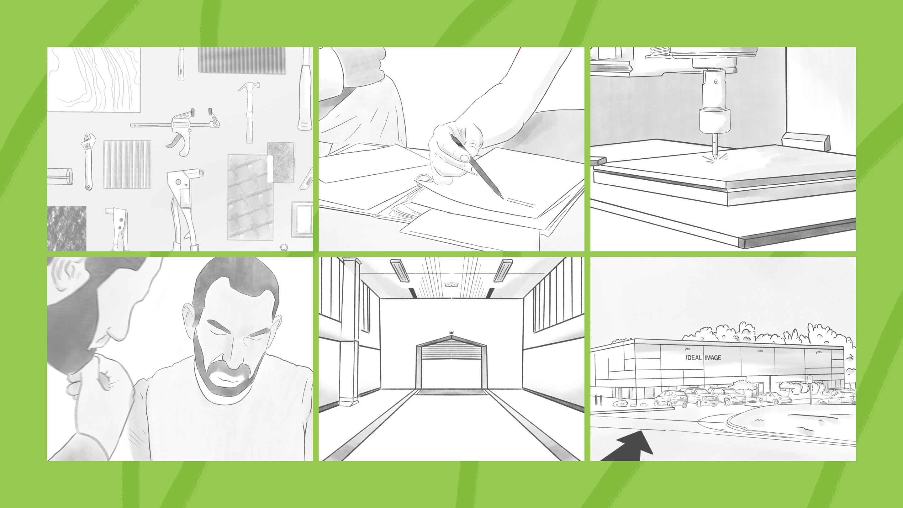 Ideal Image Case Study Storyboard for Brand Story