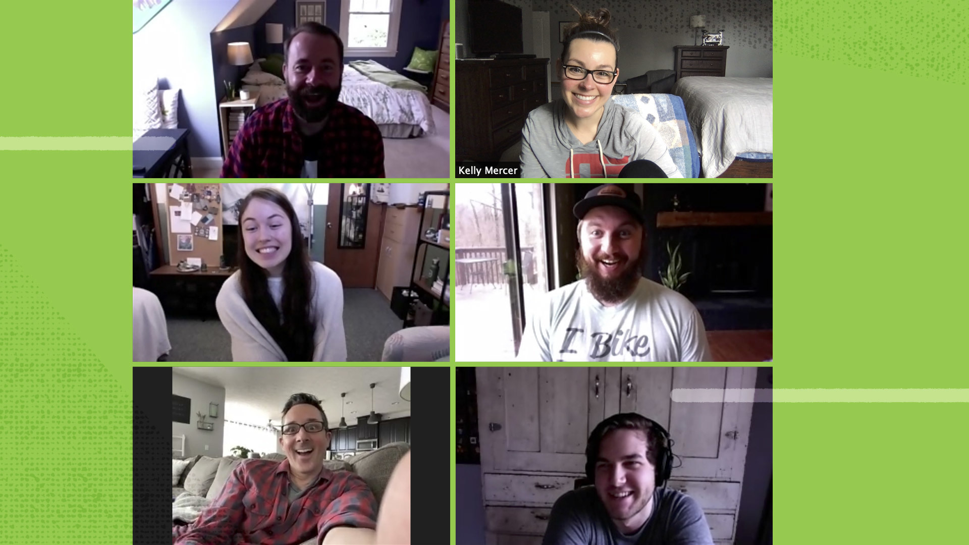 Boom Crate Team on a Zoom call.