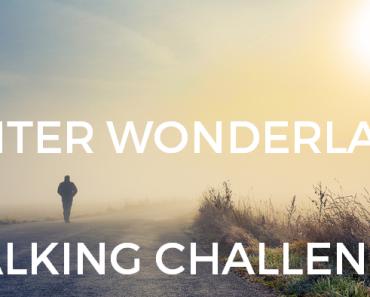 Man walking in mist - Winter Walk Challenge