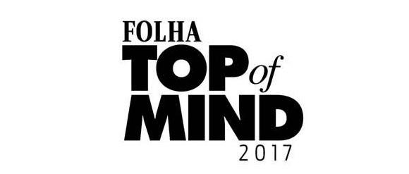 3d98f429f Prêmio Folha Top of Mind 2017