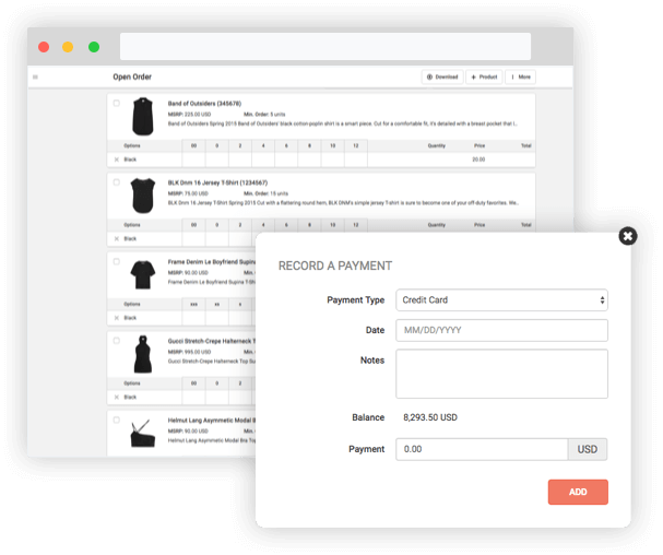 Create Beautiful Line Sheets And Lookbooks Connect With Retail Buyers - Invoice maker software women's clothing stores online