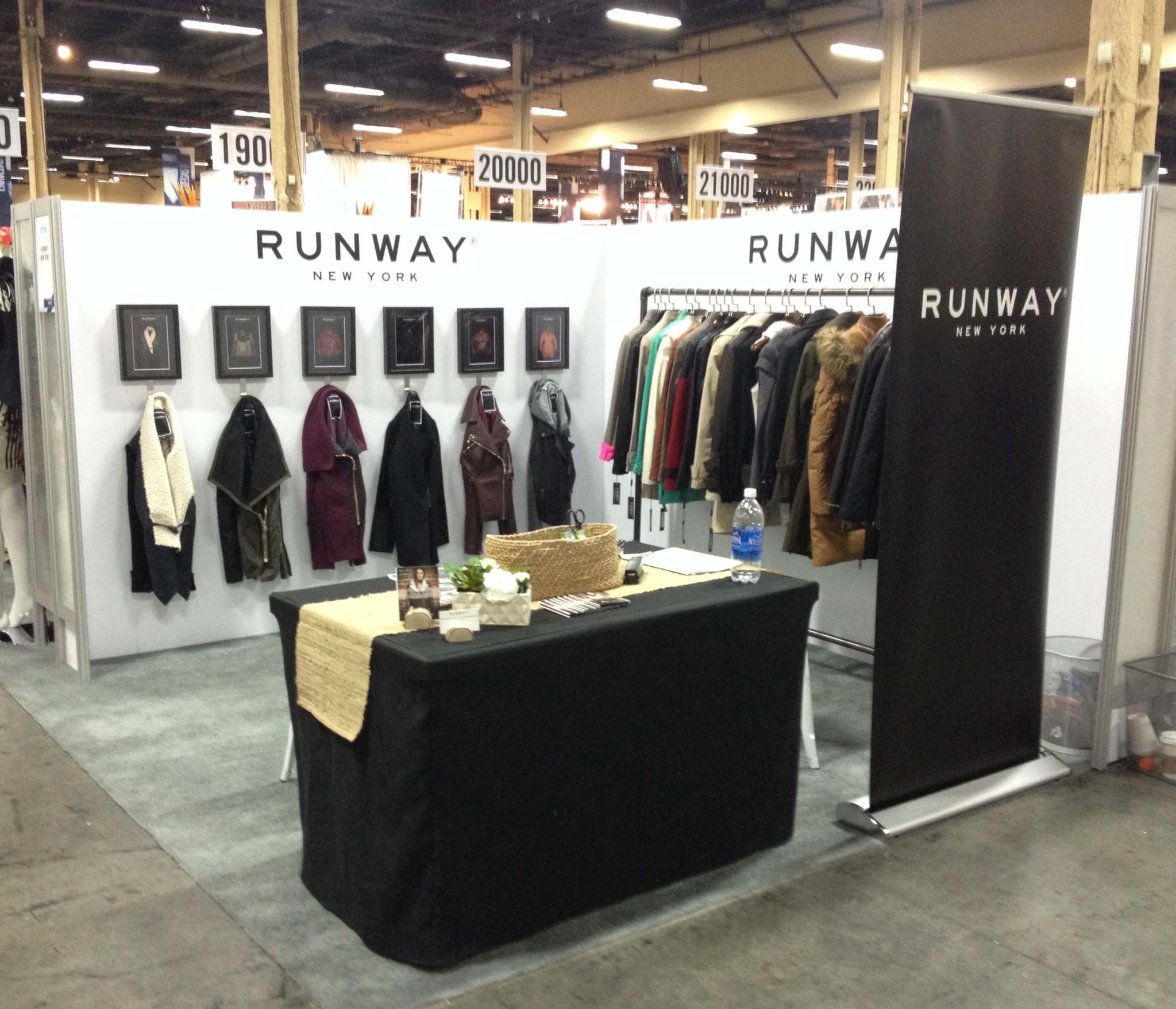 runway new york trade show booth display