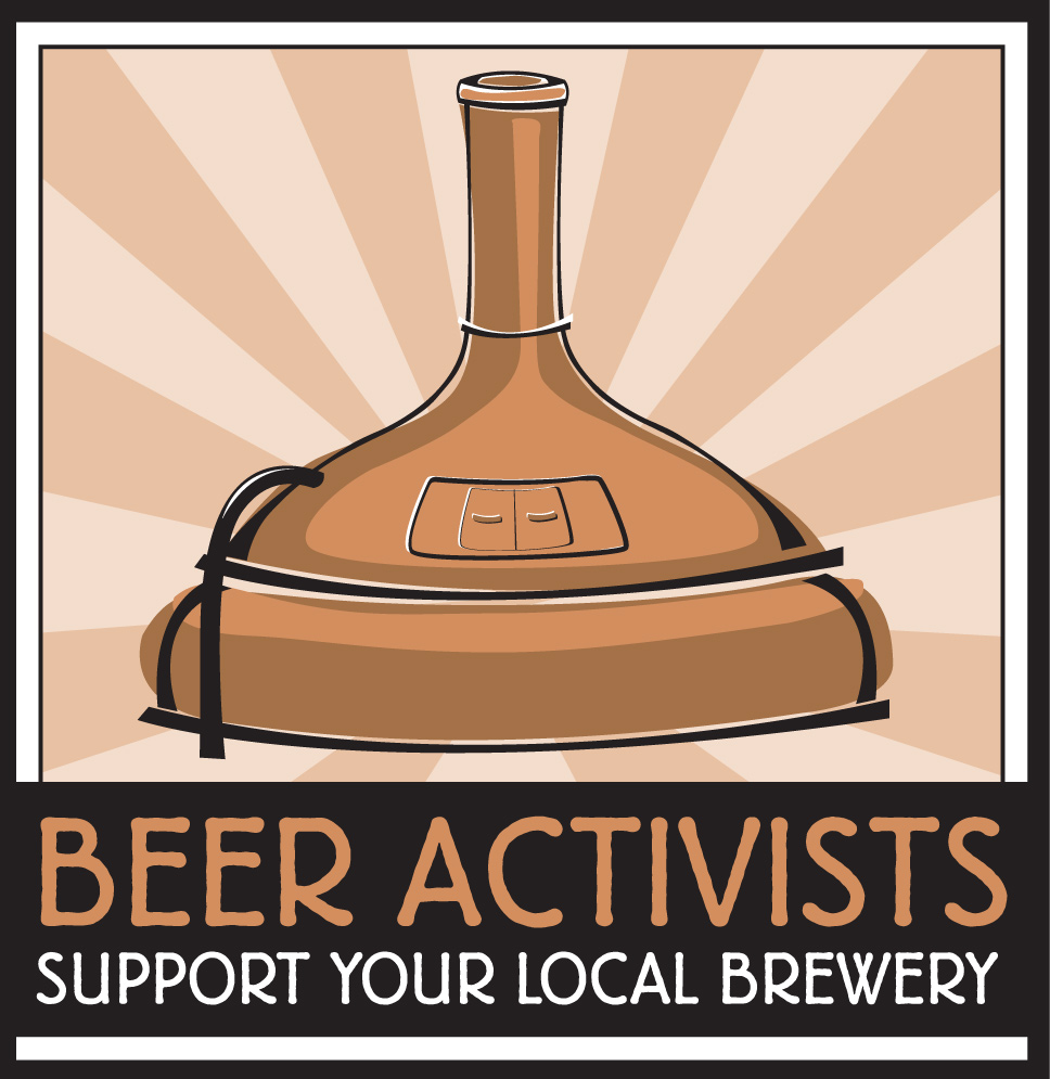 Support your local brewery logo
