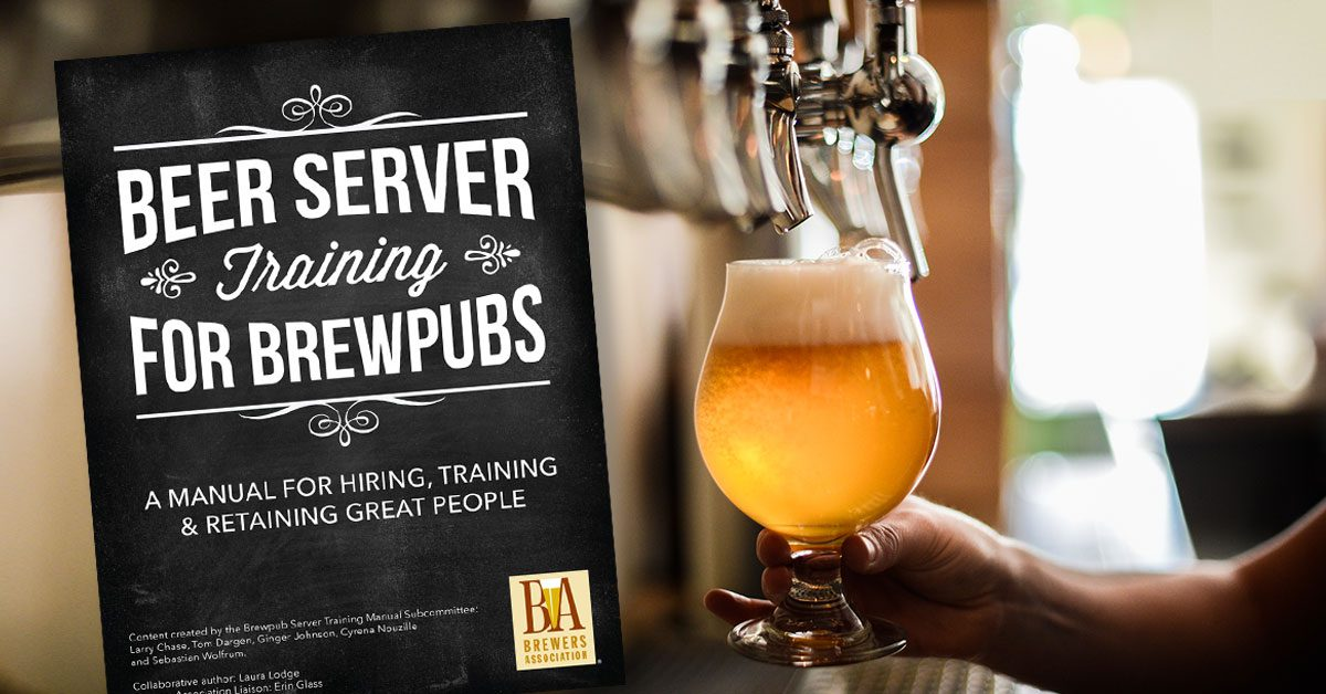 Beer Server Training Manual | Brewers Association