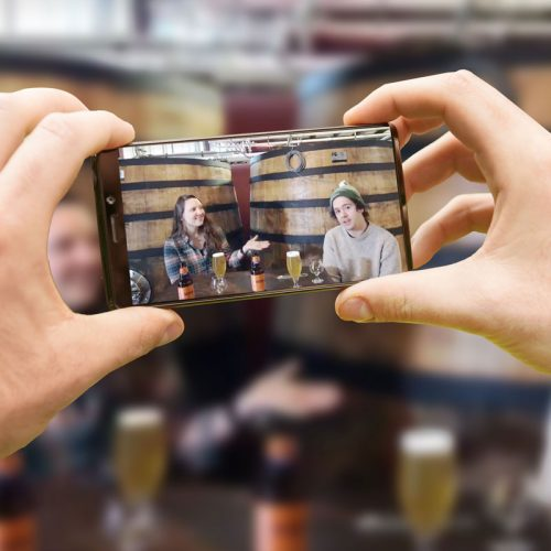 Craft Beer and Facebook Live