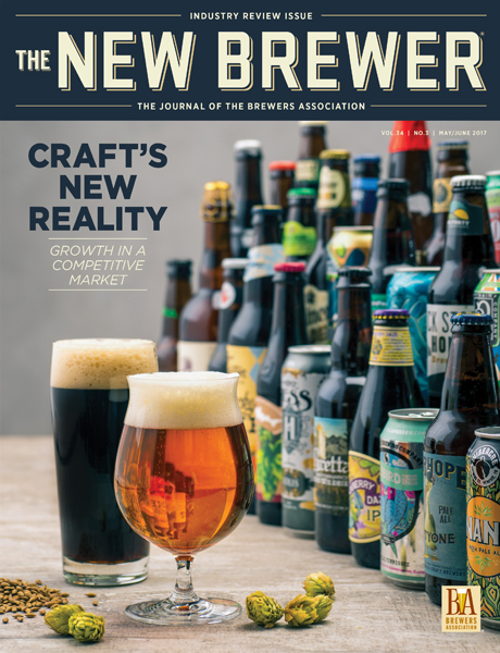 May June 2017 The New Brewer cover
